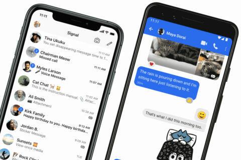 chatovací aplikace Signal