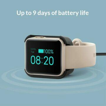 Chytré hodinky Xiaomi Mi Watch Lite baterie
