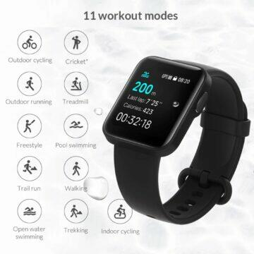 Chytré hodinky Xiaomi Mi Watch Lite sporty