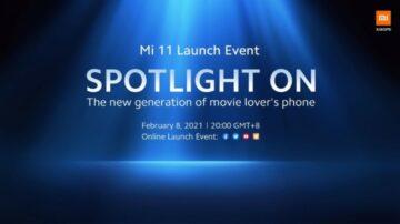 datum globálního uvedení Xiaomi Mi 11