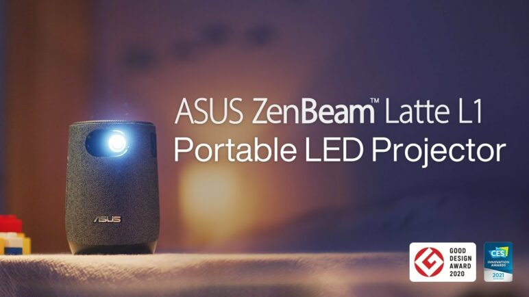 Enjoy Quality Time with Your Loved Ones - ZenBeam Latte L1 Portable LED Projector | ASUS