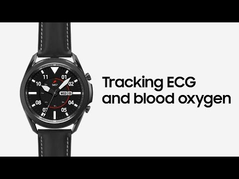 Galaxy Watch3: Tracking ECG and blood oxygen | Samsung