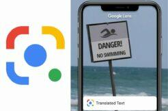 Google Lens offline překladač