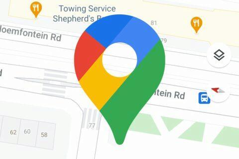 Google Mapy detaily ulic chodníků