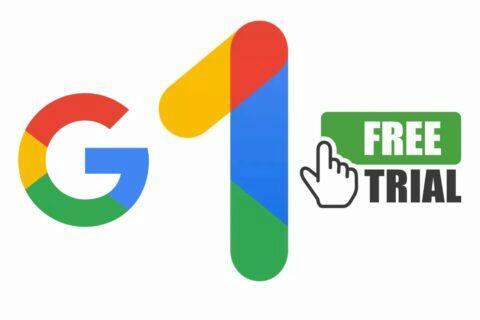 Google One na zkoušku zdarma