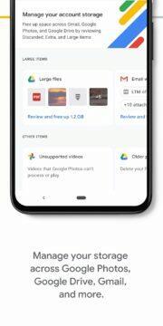 Google One na zkoušku zdarma - správa úložiště