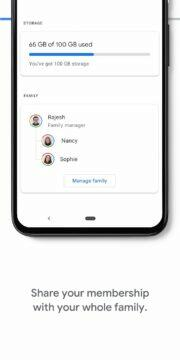 Google One rodine sdileni