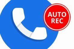 Google Telefon automatické nahrávání hovorů