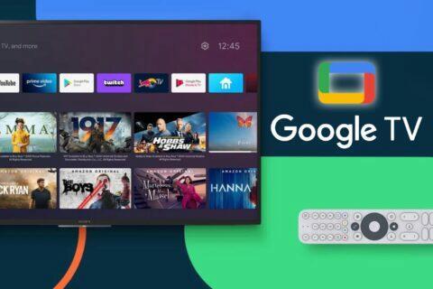 Google TV nové tlačítko