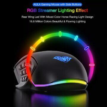 Herní RGB myš AULA