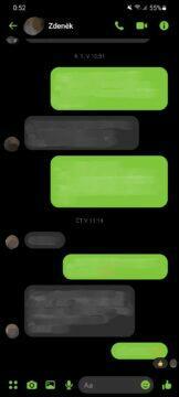 jak změnit barvu Messenger chatu nový vzhled