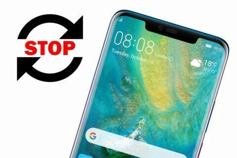 Konec bezpečnostních updatů Huawei Mate 20