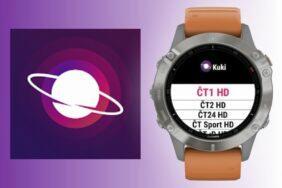 Kuki aplikace hodinky Garmin