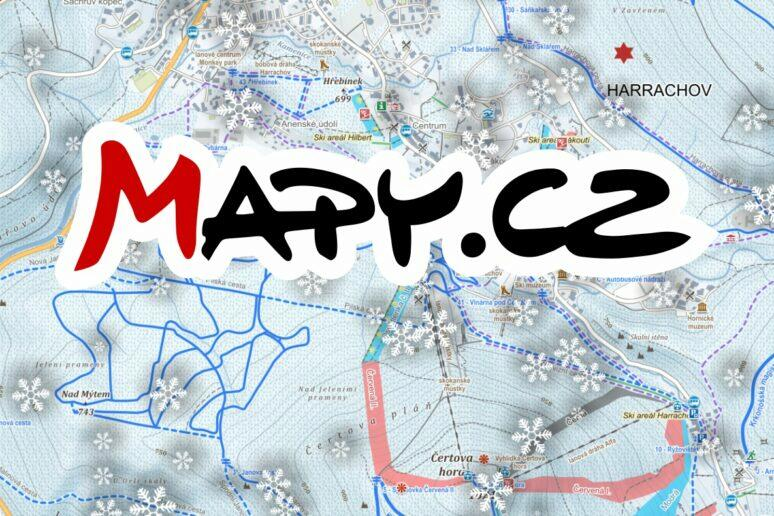 Mapy.cz zimní trasy