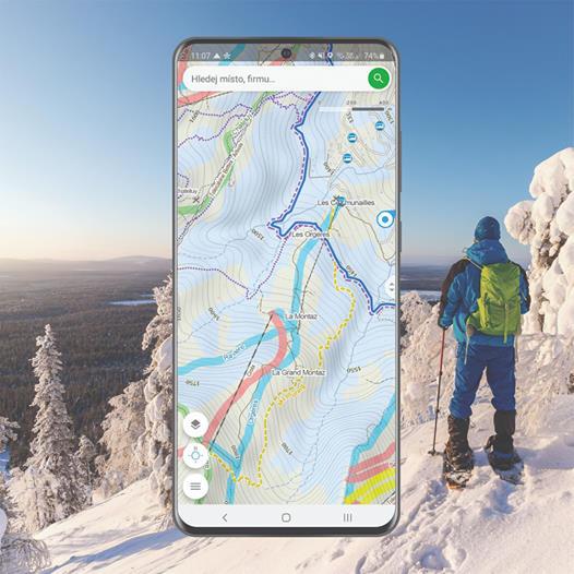 Mapy.cz zimní trasy banner
