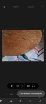 mazání objektů myš 1