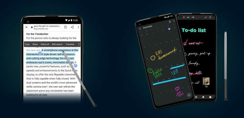 moto g stylus aplikace
