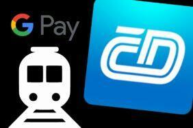 Můj vlak Google Pay