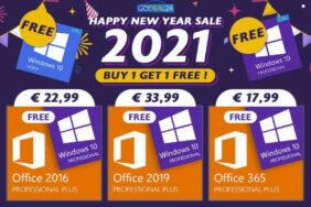 novoroční výprodeje Office