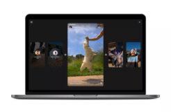 Nový vzhled Instagram stories v prohlížeči