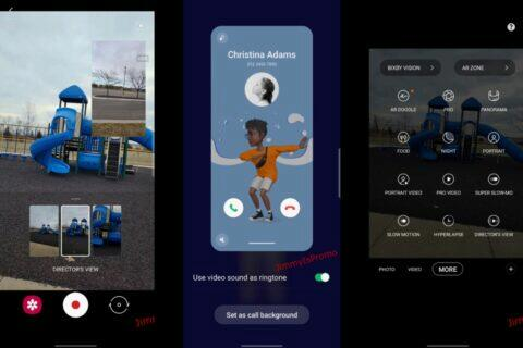 One UI 3.1 obrazovky video