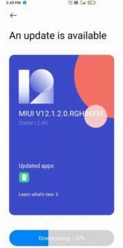 Poco X2 dostává Android 11 miui 12