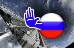 Rusko zakázaný Starlink