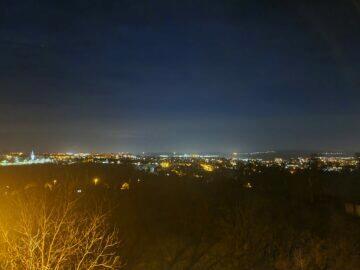 S20 noční panorama po fotografování Samsung Galaxy S21 S20 Ultra