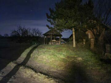 S20 noční zahrada po fotografování Samsung Galaxy S21 S20 Ultra