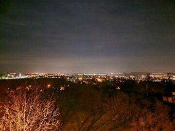 S21 noční panorama po fotografování Samsung Galaxy S21 S20 Ultra