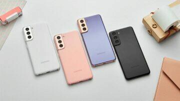 Samsung Galaxy S21 barvy dynamic