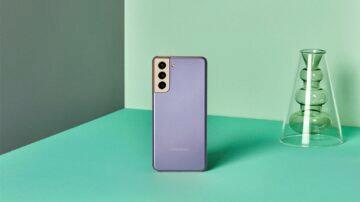 Samsung Galaxy S21 fialová