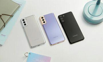 Samsung Galaxy S21 Plus barvy dynamic
