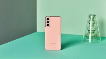 Samsung Galaxy S21 růžová