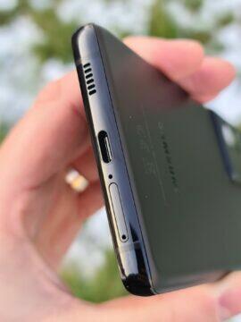 Samsung Galaxy S21 Ultra výška spodní hrana