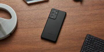 Samsung Galaxy S21 Ultra záda