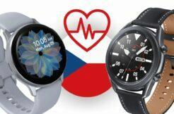 Samsung Galaxy Watch3 Active2 EKG tlakoměr ČR