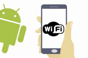 sdílení wi-fi sítě android 12