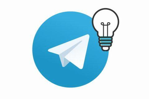 tipy aplikace telegram