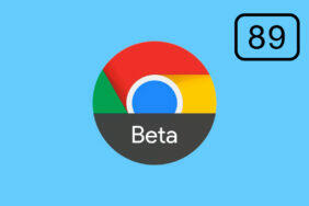 Chrome 89 beta