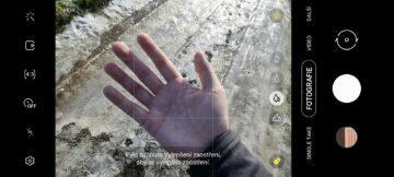 Vylepšení zaostření ruka