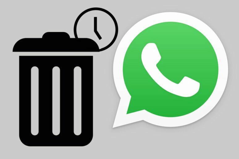 WhatsApp automatické odstraňování zpráv