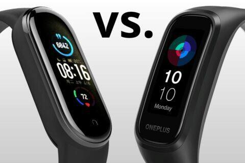 Xiaomi Mi Band 5 OnePlus Band porovnání parametrů