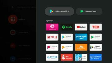 XIaomi Mi TV Stick Android TV 9 aplikace