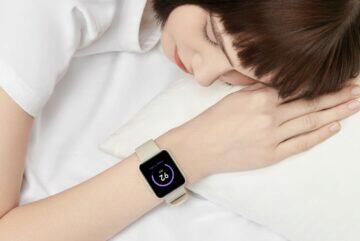 Xiaomi Mi Watch Mi Watch Lite ČR spánek