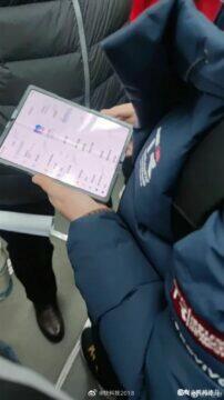Xiaomi ohebný telefon menu