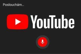 YouTube hlasové ovládání