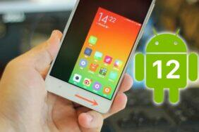Android 12 ovládání jednou rukou