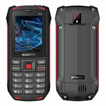 Android telefony pro seniory Aligator R40 eXtremo