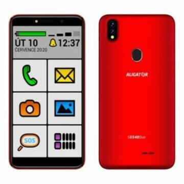 Android telefony pro seniory Aligator S5540 senior